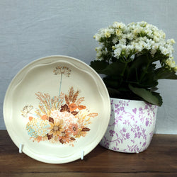 "Poole Pottery ""Summer Glory"" Salad/Breakfast Plate"