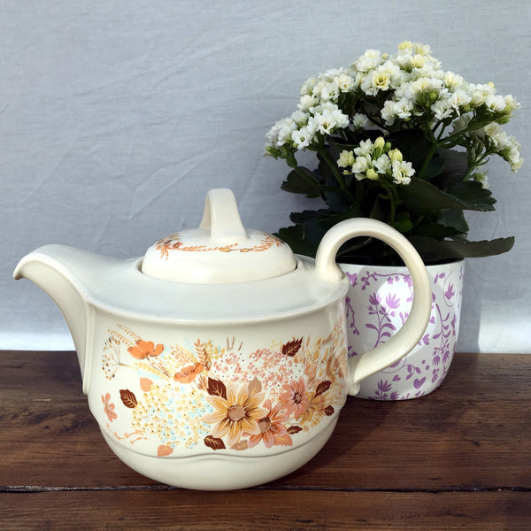 "Poole Pottery ""Summer Glory"" Teapot - 2.25 Pints"
