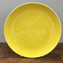 Poole Pottery Cameo Sunshine Yellow Salad / Breakfast Plate