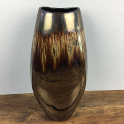 Poole Pottery Tall Vase in Brown