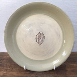 Poole Pottery Terracotta (Leaf) Breakfast/Salad Plate