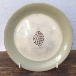 Poole Pottery Terracotta (Leaf) Tea Plate