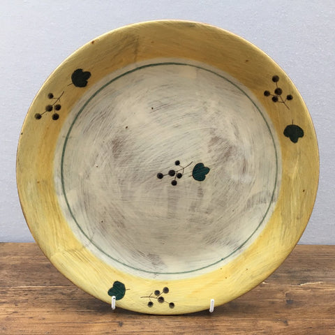 Poole Pottery Terracotta (Yellow) Dinner Plate