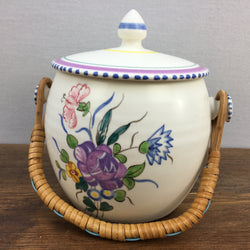 Poole Pottery Traditional Cookie Jar (LL Pattern)