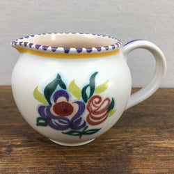 Poole Pottery Traditional Cream Jug KN Pattern