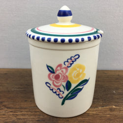 Poole Pottery Traditional Preserve Pot KW Pattern