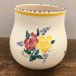 Poole Pottery Traditional Vase BF Pattern