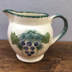Poole Pottery Vineyard Milk Jug