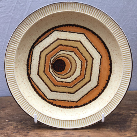 Poole Pottery Vortex Breakfast/Salad Plate