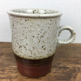 Purbeck Pottery Portland Straight Sided Coffee Cup / Mug