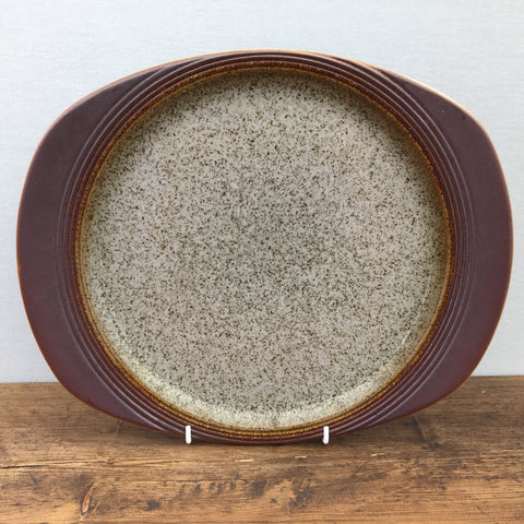 "Purbeck Pottery ""Portland"" Oval Platter/Steak Plate"