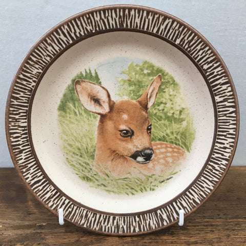Purbeck Pottery Deer Plate