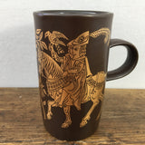 Purbeck Pottery Medieval Pursuits Hawking Mug