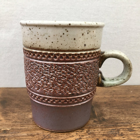 "Purbeck Pottery ""Portland"" Coffee Cup/Mug (Textured)"