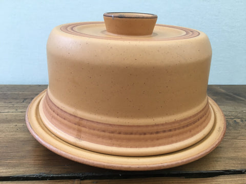 "Purbeck Pottery ""Toast"" Cheese Dish"