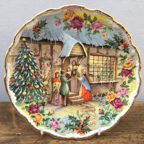 Royal Albert Christmas Carol Singers Plate