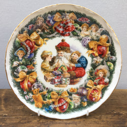 Royal Albert Christmas Garland Plate - 1998