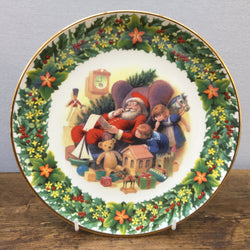 Royal Albert Santa's Little List Christmas Plate