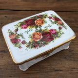 Royal Albert Old Country Roses Trinket Box