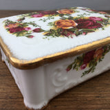 Royal Albert Old Country Roses Cigarette Box