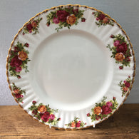 "Royal Albert ""Old Country Roses - Backstamp A"" Dinner Plate"