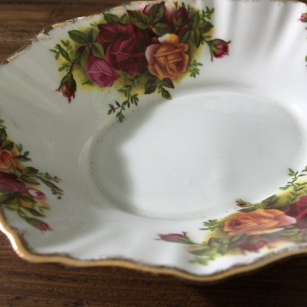 Royal Albert Old Country Roses Oval Trinket Tray