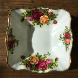 Royal Albert Old Country Roses Square Trinket Dish