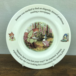 Royal Doulton Beatrix Potter Jemima Puddleduck Plate