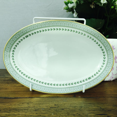 "Royal Doulton ""Berkshire"" Oval Sweet/Biscuit Plate"