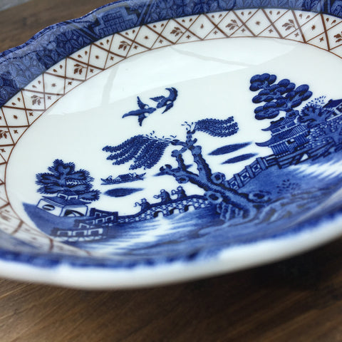 Royal Doulton Real Old Willow Fruit Saucer