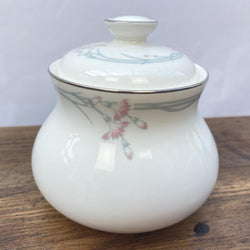 Royal Doulton Carnation Lidded Sugar Pot