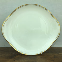 "Royal Doulton ""Gold Concord (H5049)"" Eared Cake Plate"