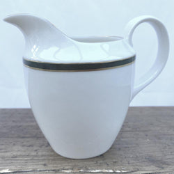 Royal Doulton Oxford Green Milk Jug