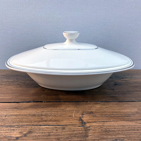 Royal Doulton Platinum Concord Lidded Serving Dish