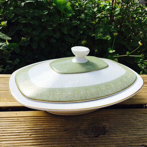 "Royal Doulton ""Sonnet"" Covered Serving Dish"