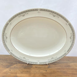 Royal Doulton York Oval Serving Platter, 13.5""