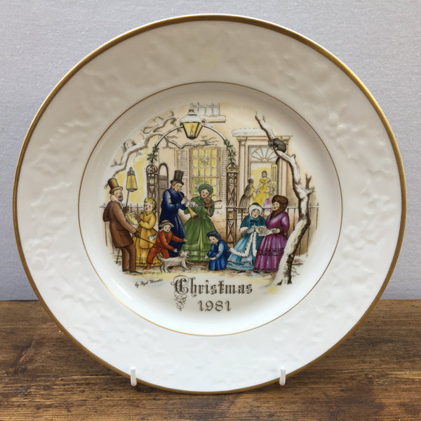 Royal Worcester 1981 Christmas Plate