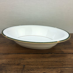 Royal Worcester Carina Green Oval Serving Dish