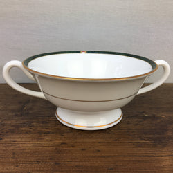Royal Worcester Carina Green Soup Cup