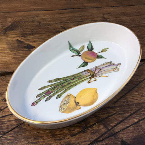 Royal Worcester Evesham Gold Oval Veg Dish 30-4