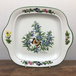 Royal Worcester Worcester Herbs Square Cake Plate