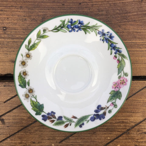 Royal Worcester Worcester Herbs Coffee Saucer