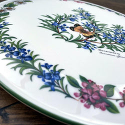 Royal Worcester Worcester Herbs Gateau Plate