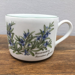 Royal Worcester Worcester Herbs Straight Sided Tea Cup