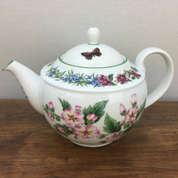Royal Worcester Worcester Herbs 2.5 Pint Teapot - Made in England