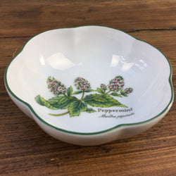 Royal Worcester Worcester Herbs Trinket Dish Peppermint