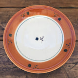 Poole Pottery Terracotta Charger Plate