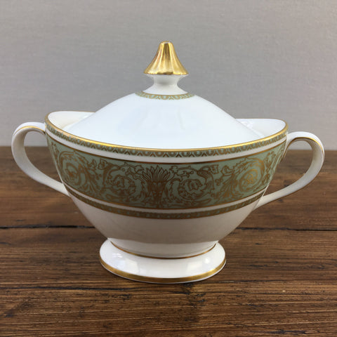 Royal Doulton English Renaissance Lidded Sugar Bowl
