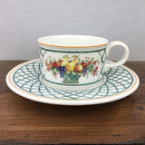 Villeroy & Boch Basket Tea Cup & Saucer (Low)