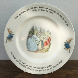 Wedgwood Beatrix Potter Peter Rabbit Dinner Plate